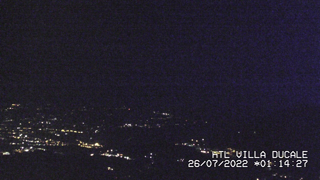 Mount Etna from Villa Ducale